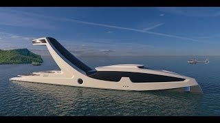 Radical new 150m superyacht concept Shaddai