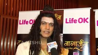 '''नागार्जुन''' एक योद्धा Life OK Serial Mr Manish Wadhwa Interview In Promotions