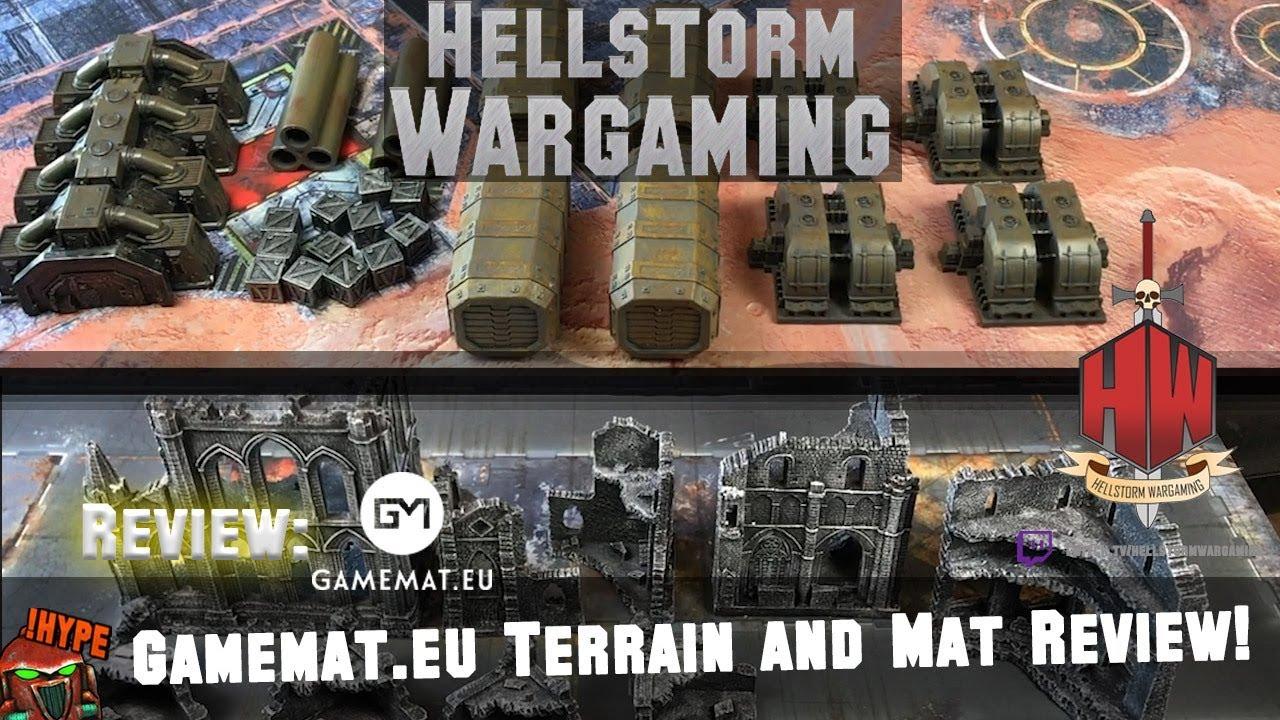 Gamemat eu Terrain and Mat Review with Hellstorm Wargaming
