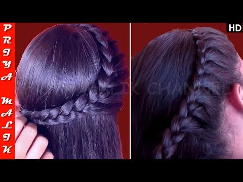 Easy Side Braid Hairstyle | Hairstyle For Medium Hair | Priya Malik