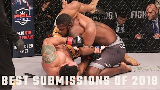 Download Top 10 Submissions of 2018 | PFL - Professional Fighters League Mp3 and Videos
