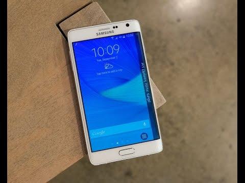 كل ماتود معرفته عن الهاتف Samsung Galaxy Note Edge