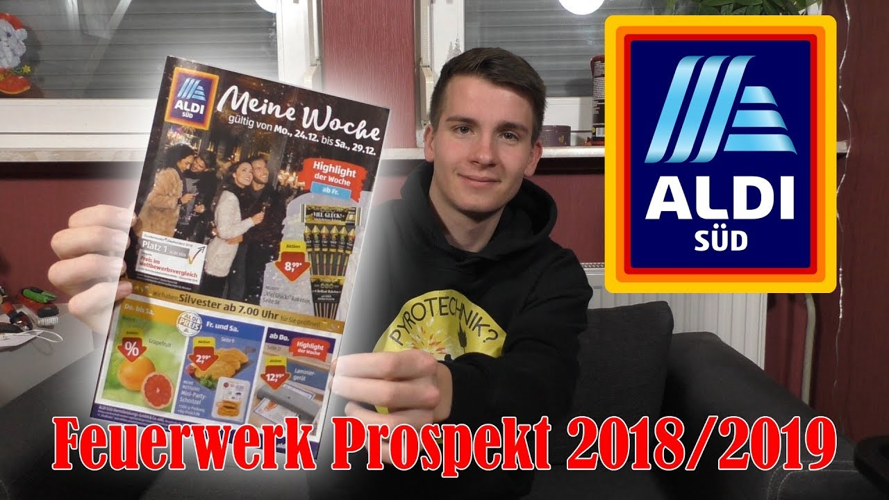 Aldi Süd Feuerwerk Prospekt 2018 Silvester 20182019 Full Hd