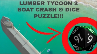Lumber tycoon 2 | Crashed boat easteregg | New dice puzzle found!!!
