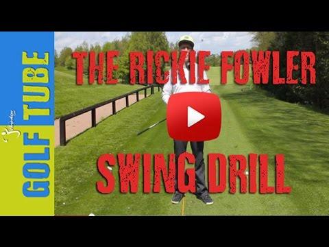 Rickie Fowler Swing Drill