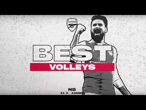 The best Arsenal volleys ever!   Ozil, Giroud, Ramsey, Alexis and more…