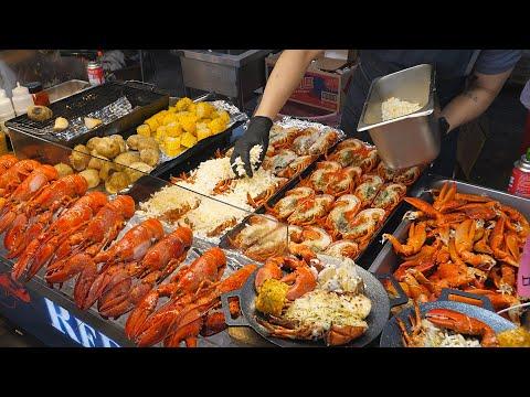 Grilled Cheese Bomb Lobster / Korean Street Food