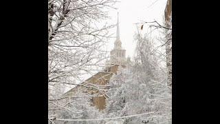 В Москве самый сильный снегопад с начала зимы