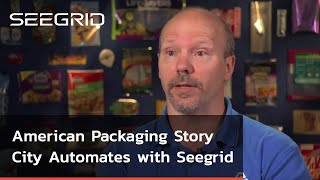 American Packaging Story City, Iowa Automates with Seegrid Vision Guided Vehicles