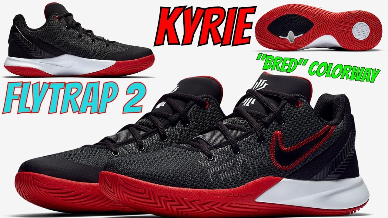 KYRIE IRVING S NIKE KYRIE FLYTRAP 2 HAS A