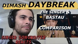 Dimash Daybreak Reaction and Comparison - 'The Singer' & Bastau