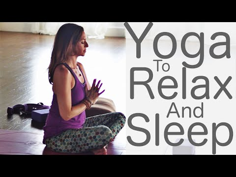 Yoga to Relax and Sleep With Fightmaster Yoga