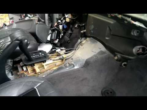 Removing Heater core and A/C evap from 2001 Jeep Grand Cherokee