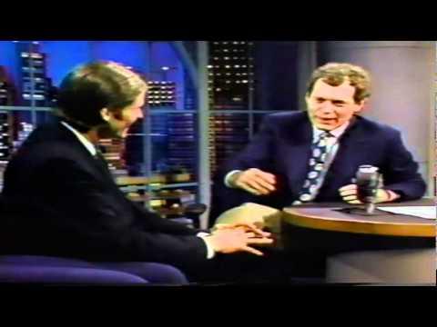 Crispin Glover on Letterman 92