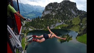 Bungee Jumping Interlaken Switzerland at Stockhorn