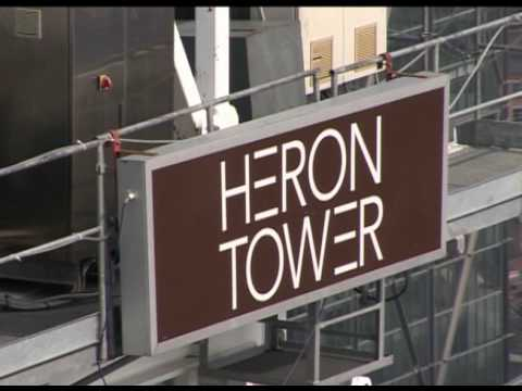 Heron Tower Topping Out Ceremony 12 April 2010