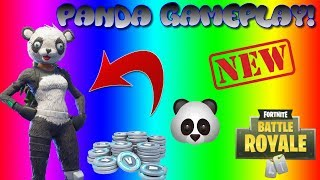 * NEU* PANDA TEAM LEADER SKIN GAMEPLAY SHOWCASE | FORTNITE BATTLE ROYALE !