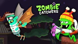 ОХОТА НА ЗОМБИ! Новый ЗОМБИ ЛЕТУН из КИТАЙСКОГО КВАРТАЛА Мультик игра Zombie Catchers