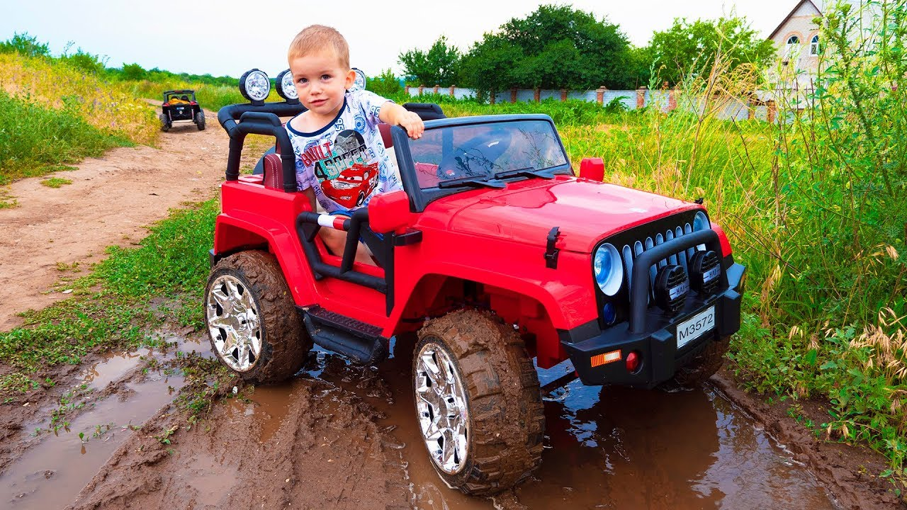 Artur and adventure / Kids pretend play car toys / Video for kids, children by MelliArt