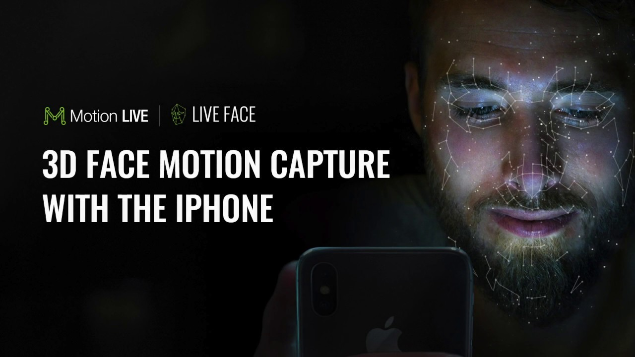 iPhone Facial Mocap with iClone Motion LIVE