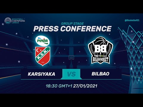 Pinar Karsiyaka v RETAbet Bilbao - Press Conference