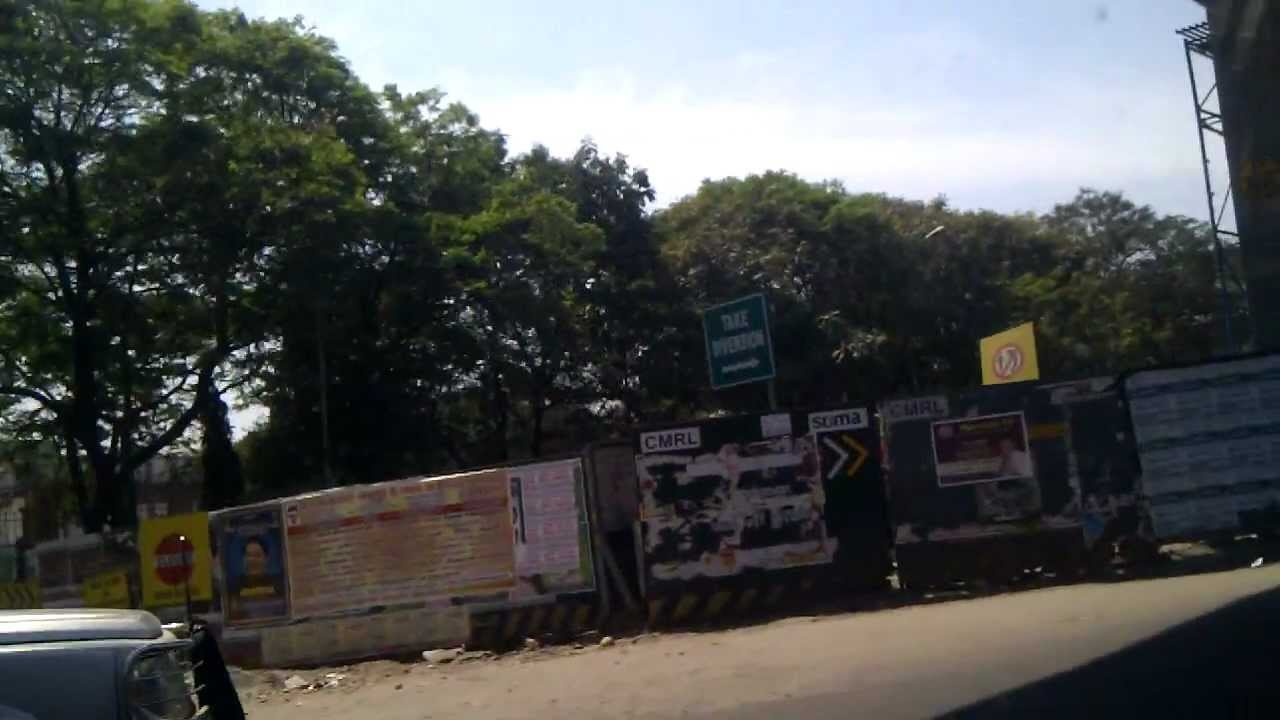 Chennai Metro Rail - SAF Games Village to CMBT