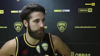 Tomás Zanzottera post Obras Basket 86-80 Salta Basket (06-02-18)