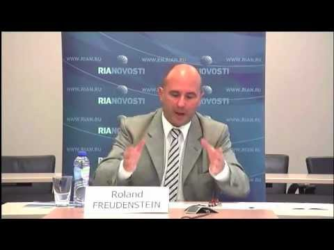 RIA Novosti debate on Syria with Roland Freudenstein, CES Head of Research