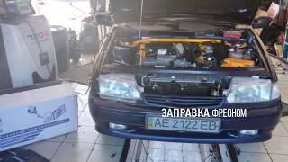 видео Как поставить кондиционер на ВАЗ 2110: установка климат-контроля от Приоры