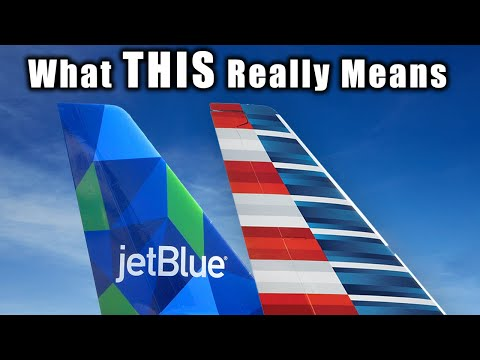 What JetBlue's New Partnership With American REALLY Means
