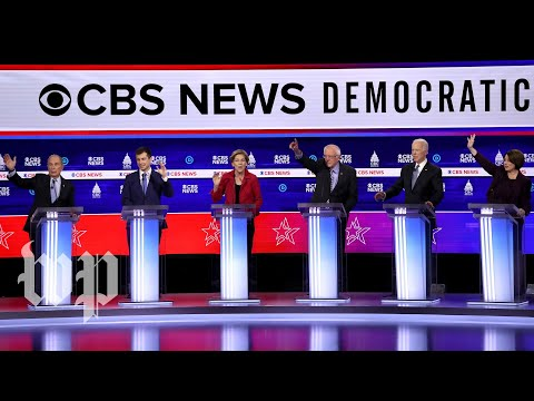 The South Carolina Democratic debate in 3 minutes and 30 seconds