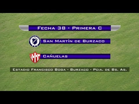 Fecha 38: San Martín de Burzaco vs Cañuelas