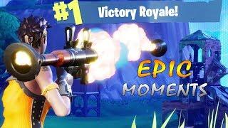 Fortnite Battle Royale - Funny, Epic & Crazy momen...