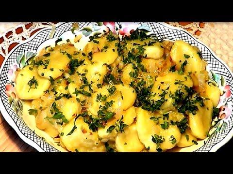 Постный рецепт. Ленивые вареники с картошкой. Ньокки.