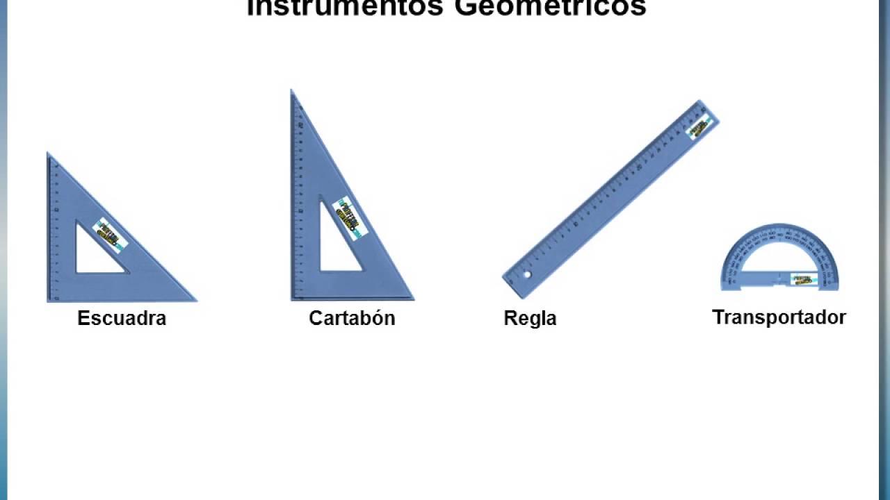 PROYECCIONES ORTOGONALES  Instrumentos Geométricos  Regla, Escuadra,  Cartabón y Transportador