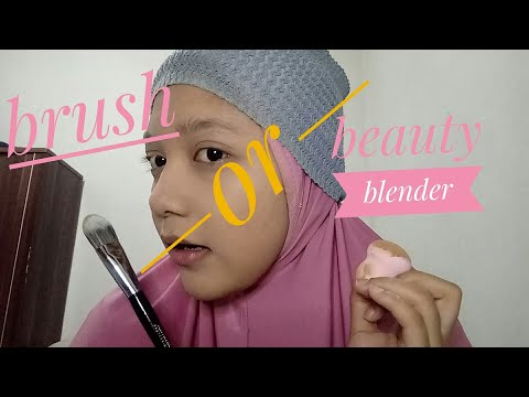 Bandingin Brush TAMMIA dengan Beauty Blender USOPSO !