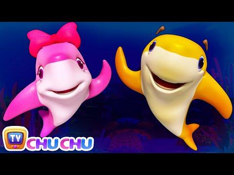 Ba shark doo doo doo doo  3D Nursery Rhymes & Ba Songs  ChuChu TV