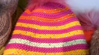 Идеи для вязания детских шапок 2019
