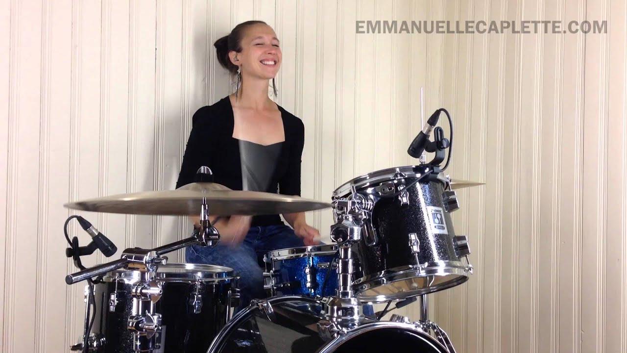 Emmanuelle Caplette: Swing Feel Groove + Sextuplet Fills