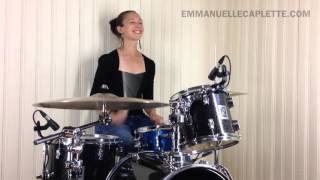 Emmanuelle Caplette: Swing Feel Groove + Sextuplet Fills 2015