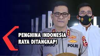 Sudah Ditangkap, Polri Ungkap Identitas 2 Tersangka Parodi Indonesia Raya