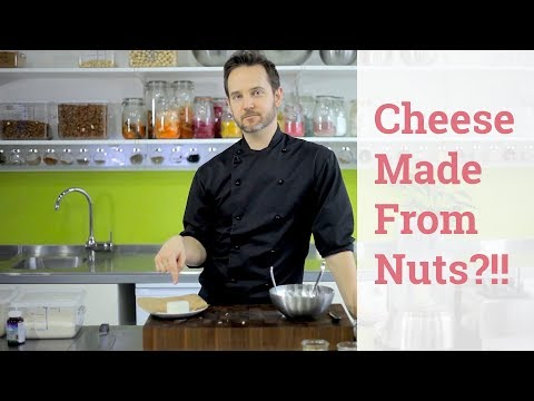 How to make raw tree nut cheese