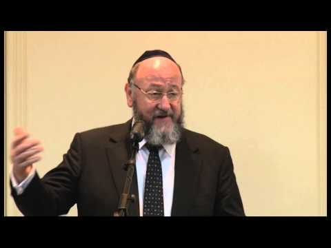 Chief Rabbi Ephraim Mirvis - Contemporary Judaism & Modern Israel