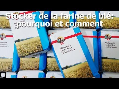 Stocker de la farine de blé: pourquoi et comment