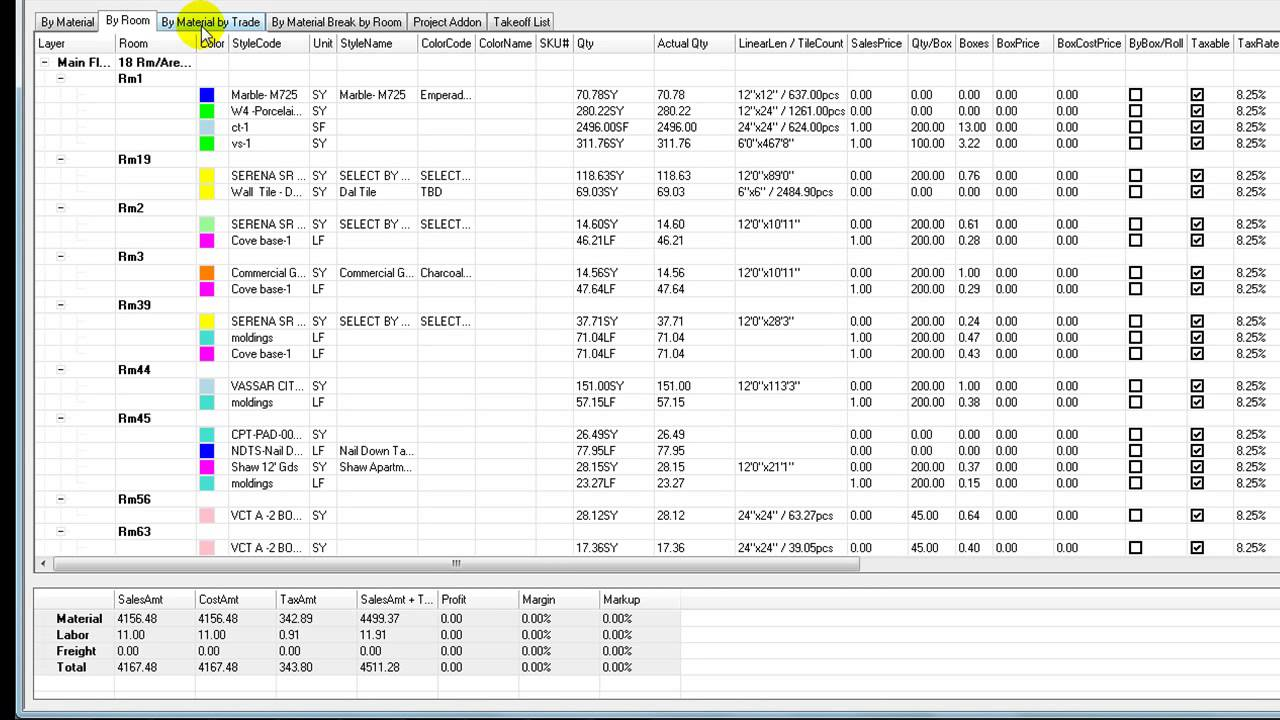 Floor Estimate Pro ( FEP ) - Introduction to worksheet - YouTube