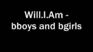 Will I Am MC Supernatural Bboys Bgirls