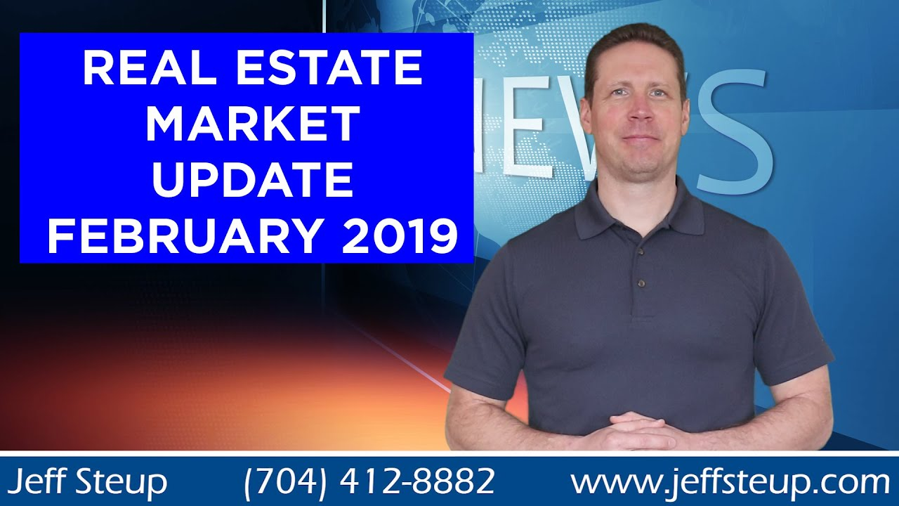 South Charlotte / Waxhaw Area Real Estate Market Update February 2019