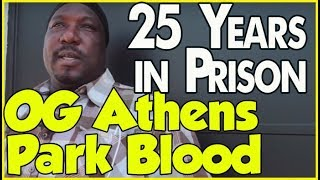 OG Athens Park Blood transitioning to life after 25 years in prison