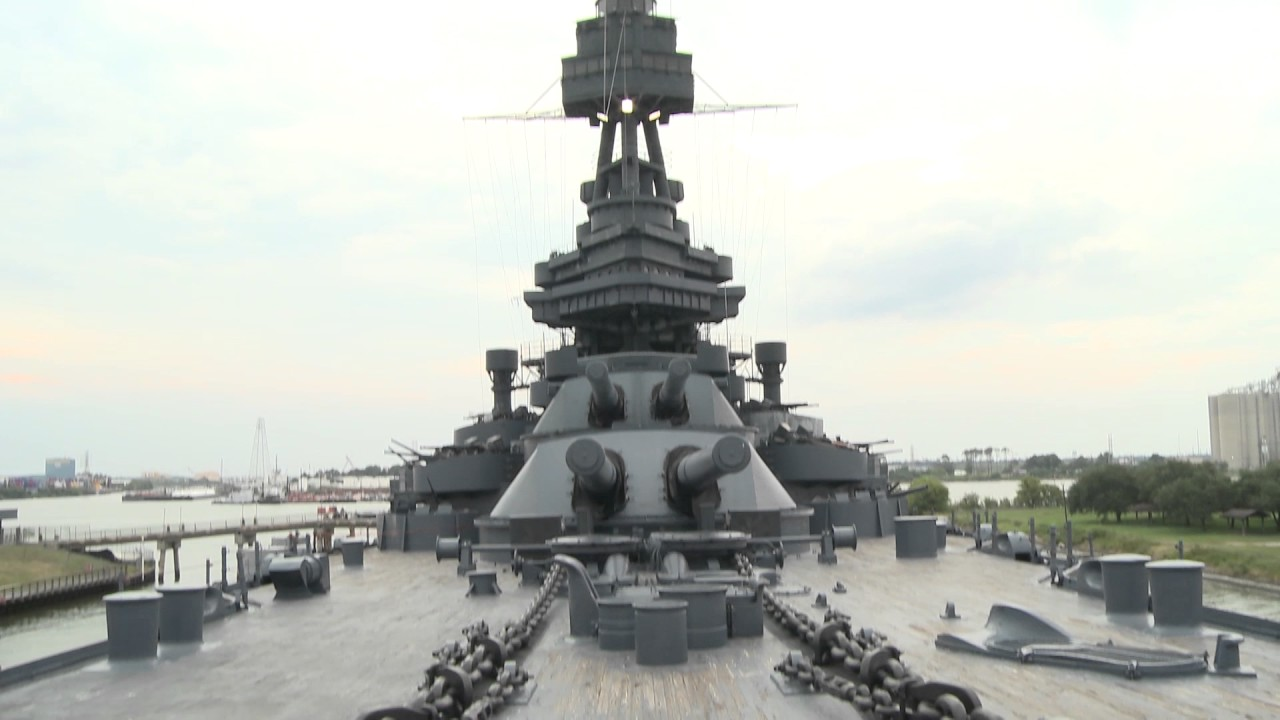 The texas bucket list battleship texas in la porte for La porte houston