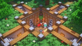 Minecraft: How to Build an Underground Base | Simple Underground Survival Base Tutorial